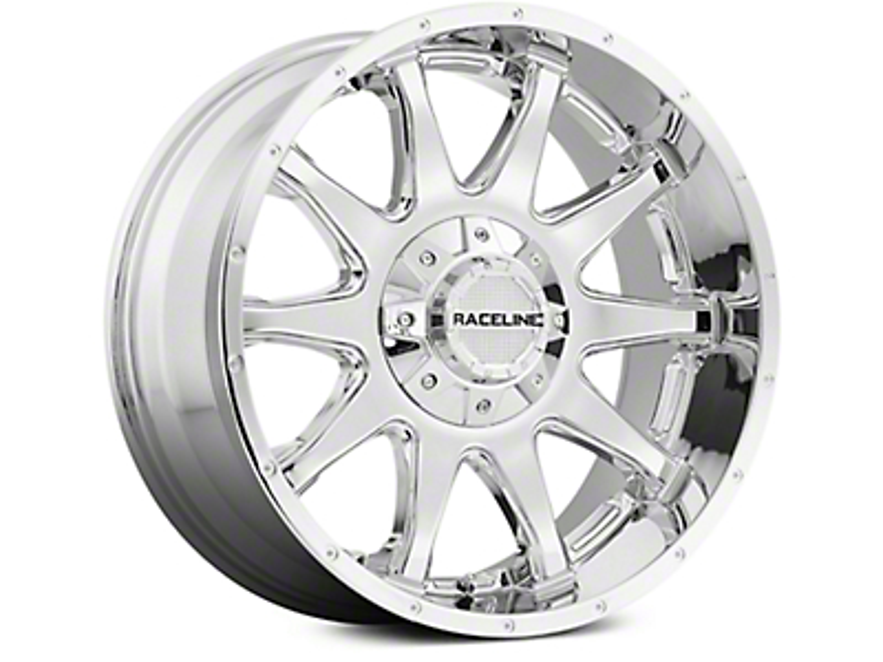 Raceline Shift Chrome 6-Lug Wheel - 18x9 (07-18 Sierra 1500)