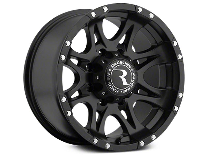 Raceline Raptor Black 6-Lug Wheel - 20x9 (07-19 Sierra 1500)