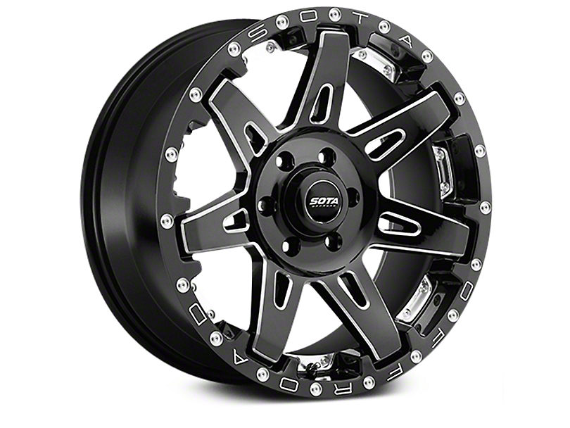 SOTA Off Road B.A.T.L. Death Metal 6-Lug Wheel - 20x9 (07-18 Sierra 1500)