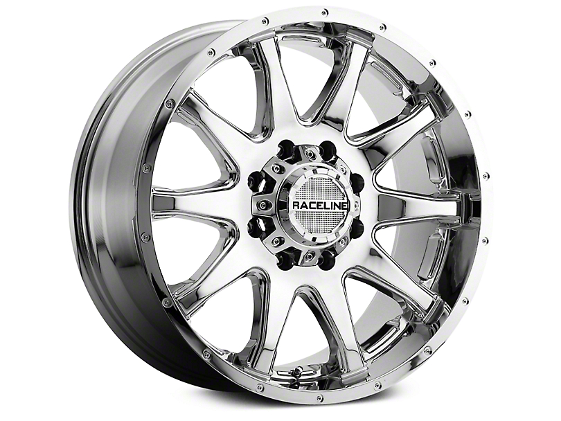 Raceline Shift Chrome 6-Lug Wheel - 20x9 (07-18 Sierra 1500)