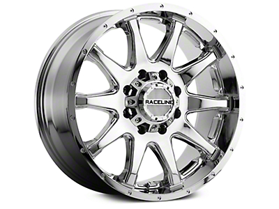 Raceline Shift Chrome 6-Lug Wheel - 20x9 (07-18 Sierra 1500)