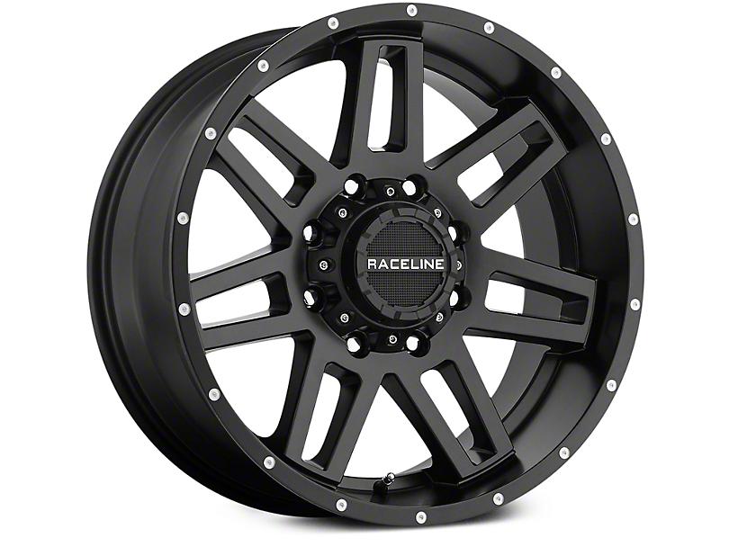 Raceline Injector Black 6-Lug Wheel - 20x9 (07-18 Sierra 1500)
