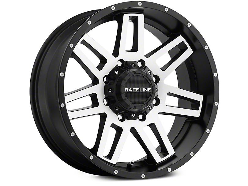 Raceline Injector Black Machined 6-Lug Wheel - 20x9 (07-19 Sierra 1500)
