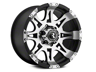 Raceline Raptor Black Machined Wheel - 18x9 (07-18 Sierra 1500)