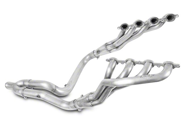 Stainless Works 1-7/8 in. Headers w/ Off-Road Y-Pipe - Factory Connect (07-13 5.3L Sierra 1500)
