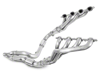 Stainless Works 1-7/8 in. Headers w/ Catted Y-Pipe - Factory Connect (07-13 5.3L Sierra 1500)