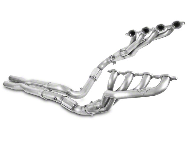 Stainless Works 1-7/8 in. Headers w/ Catted X-Pipe - Performance Connect (07-13 4.8L, 5.3L, 6.0L, 6.2L Sierra 1500)