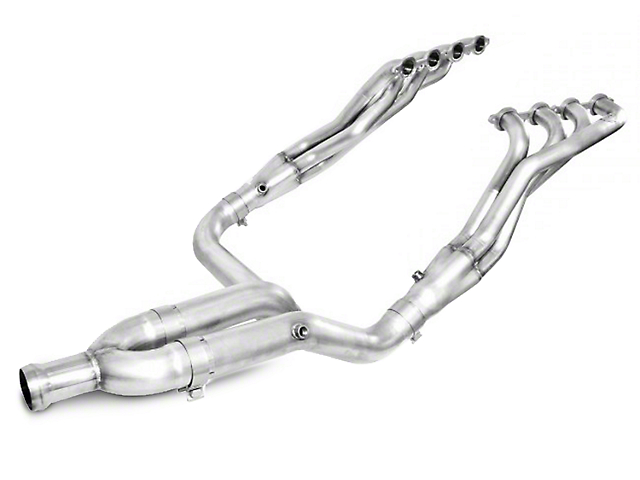 Stainless Works 1-7/8 in. Headers w/ Off-Road Y-Pipe - Factory Connect (14-18 5.3L Sierra 1500)