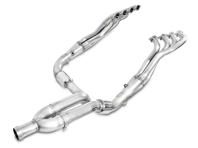 Stainless Works 1-7/8 in. Headers w/ Catted Y-Pipe - Factory Connect (14-18 5.3L Sierra 1500)