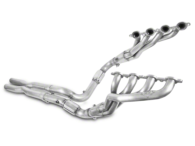 Stainless Works 1-7/8 in. Headers w/ Catted X-Pipe - Performance Connect (14-18 5.3L, 6.2L Sierra 1500)