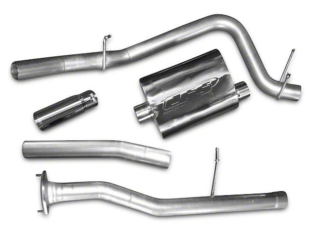 CGS Motorsports Aluminized Single Exhaust System - Side Exit (10-11 6.2L Sierra 1500)