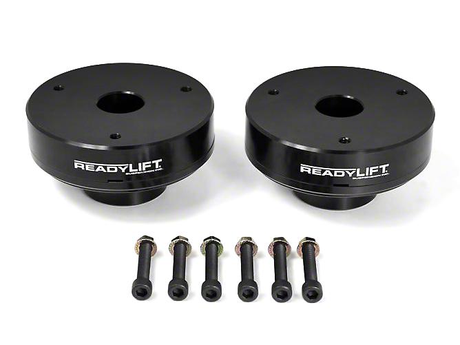 ReadyLIFT 2.25 in. Billet Aluminum Leveling Kit - Black (07-13 2WD/4WD Sierra 1500)