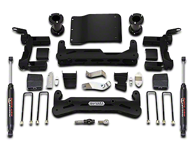 ReadyLIFT 6.5 in. Off Road Lift Kit w/ SST3000 Shocks (14-18 2WD/4WD Sierra 1500)