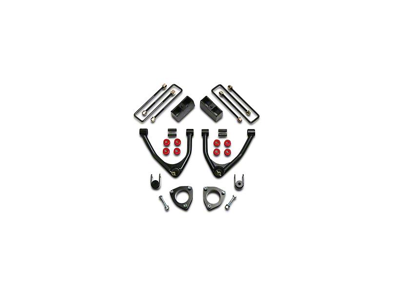 ReadyLIFT 4 in. Front / 1.75 in. Rear SST Lift Kit (07-18 2WD Sierra 1500 w/ Stock Cast Steel Control Arms)