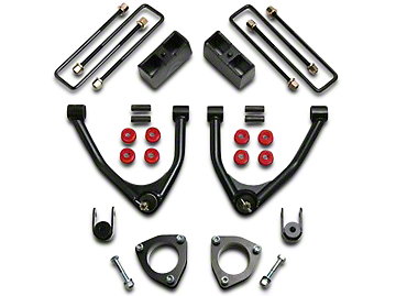 ReadyLIFT 4 in. Front / 1.75 in. Rear SST Lift Kit (07-18 2WD Sierra 1500 w/ Stock Cast Steel Control Arms)