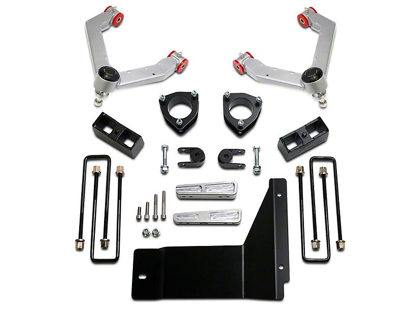 ReadyLIFT 4 in. Front / 1.75 in. Rear SST Lift Kit (07-13 4WD Sierra 1500)