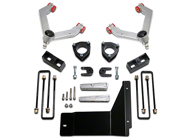 ReadyLIFT 4-Inch Front / 1.75-Inch Rear SST Suspension Lift Kit (07-13 4WD Sierra 1500)