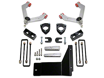 ReadyLIFT 4 in. Front / 1.75 in. Rear SST Lift Kit (07-13 4WD Sierra 1500)