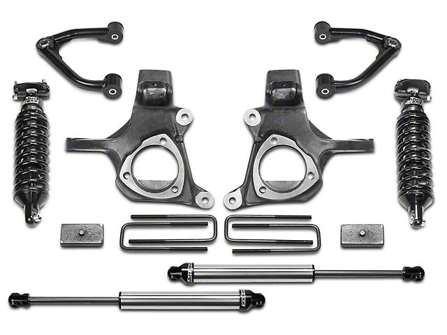 Fabtech 6.5 Inch Ultimate Lift System (07-13 2WD Sierra 1500)