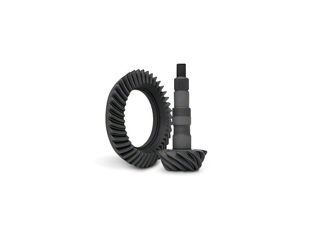 Yukon Gear 8.5-Inch and 8.6-Inch Rear Axle Ring and Pinion Gear Kit; 2.73 Gear Ratio (07-18 Sierra 1500)