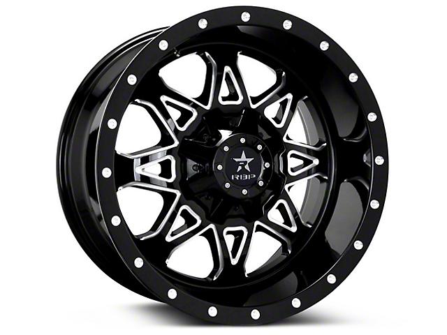 RBP 79R Assault Gloss Black Machined 6-Lug Wheel; 20x10 (07-18 Sierra 1500)