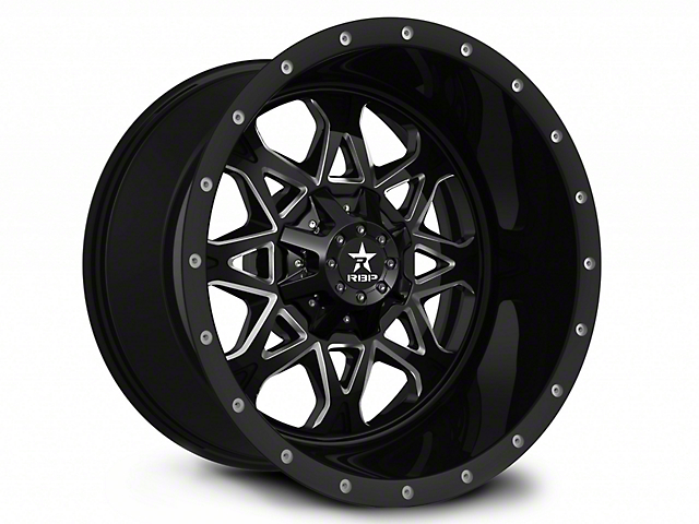 RBP 79R Assault Black 6-Lug Wheel; 20x10 (07-18 Sierra 1500)