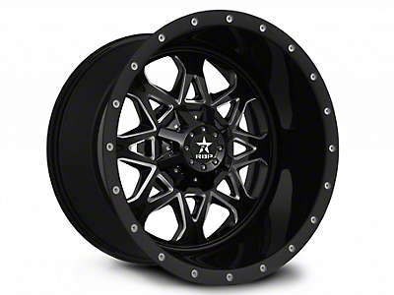 RBP 79R Assault Black 6-Lug Wheel - 20x10 (07-18 Sierra 1500)