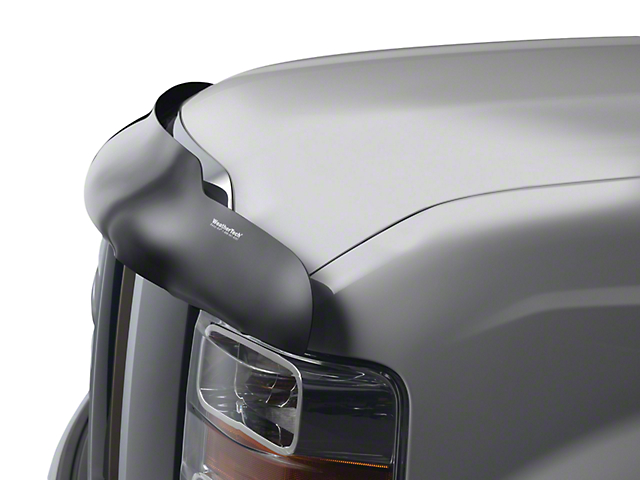 Weathertech Stone & Bug Deflector - Dark Smoke (07-13 Sierra 1500)