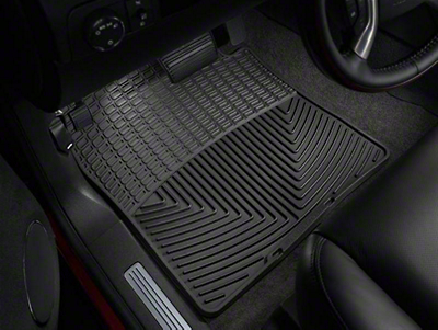 Weathertech All Weather Front Floor Mats - Black (07-13 Sierra 1500)