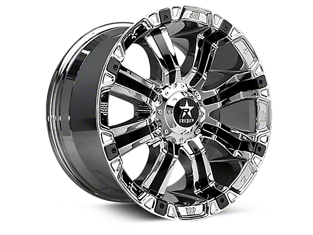 RBP 94R Chrome w/ Black Inserts 6-Lug Wheel - 17x9 (07-18 Sierra 1500)
