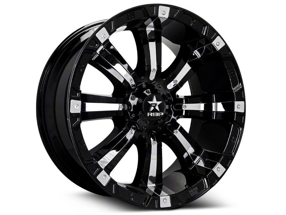 rbp sierra 94r black w chrome inserts 6 lug wheel 18x10 s500880 Dodge 2500 Mega Cab rbp 94r black w chrome inserts 6 lug wheel 18x10 07 18 sierra 1500