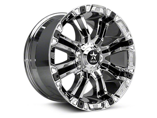 RBP 94R Chrome w/ Black Inserts 6-Lug Wheel - 20x10 (07-19 Sierra 1500)