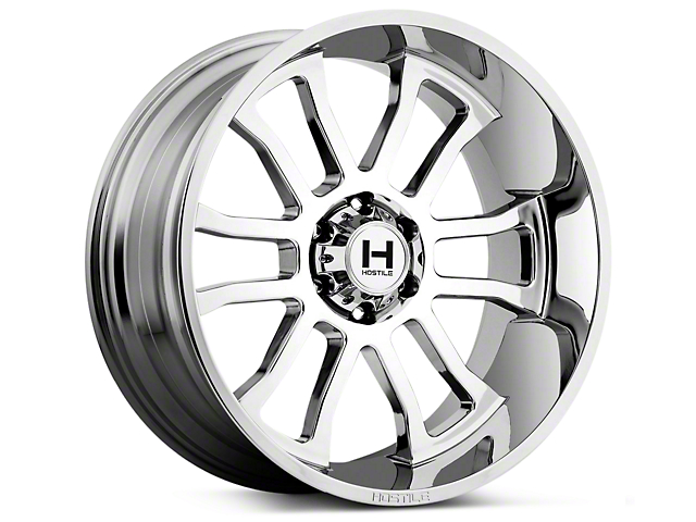 Hostile Gauntlet Armor Plated 6-Lug Wheel - 22x10 (07-18 Sierra 1500)