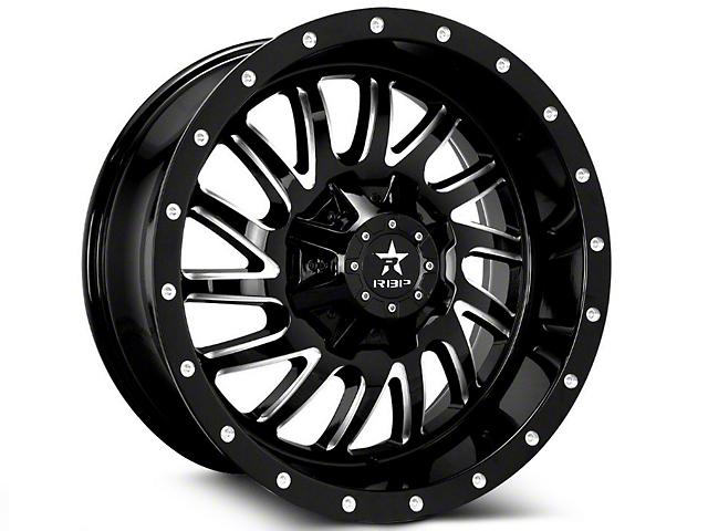 RBP 98R Black Machined 6-Lug Wheel; 20x9 (07-18 Sierra 1500)