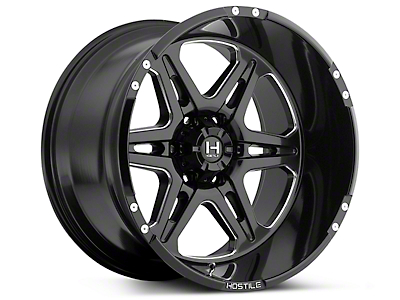 Hostile HAVOC Blade Cut 6-Lug Wheel -18x9 (07-18 Sierra 1500)