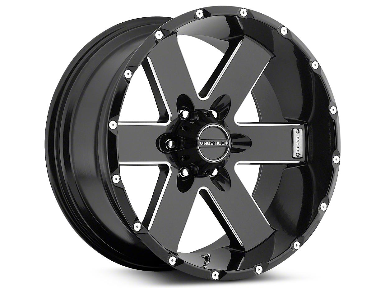 Hostile MOAB Blade Cut 6-Lug Wheel - 20x10 (07-18 Sierra 1500)
