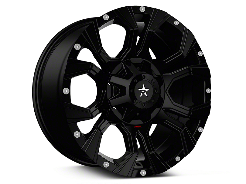 RBP 64R Widow Full Black 6-Lug Wheel - 20x10 (07-18 Sierra 1500)