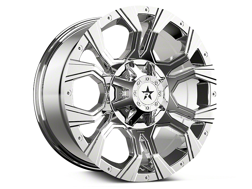 RBP 64R Widow Chrome 6-Lug Wheel - 20x10 (07-19 Sierra 1500)