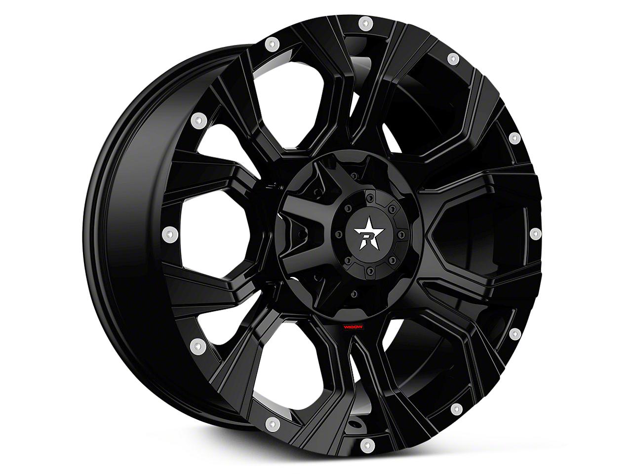 RBP 64R Widow Full Black 6-Lug Wheel - 18x9 (07-18 Sierra 1500)