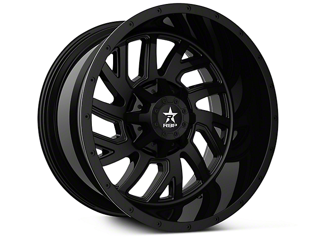 RBP 65R Glock Full Black 6-Lug Wheel - 20x10 (07-19 Sierra 1500)