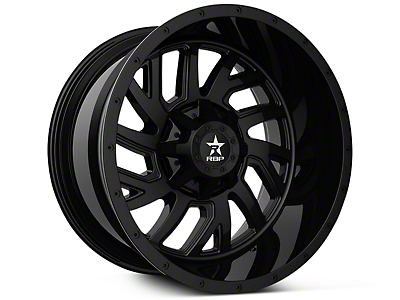 RBP 65R Glock Full Black 6-Lug Wheel - 20x10 (07-18 Sierra 1500)