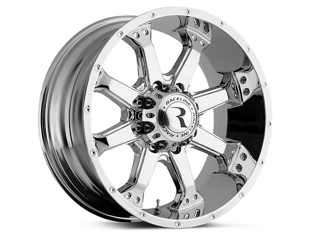 Raceline Assault Chrome 6-Lug Wheel - 18x9 (07-19 Sierra 1500)