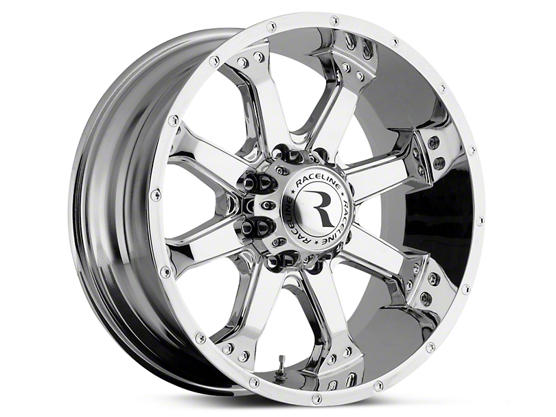 Raceline Assault Chrome 6-Lug Wheel - 20x9 (07-19 Sierra 1500)