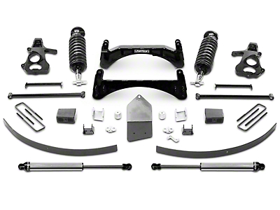 Fabtech 6 in. Performance Lift System w/ Dirt Logic 4.0 Coilovers & Shocks (07-13 2WD/4WD Sierra 1500 Extended Cab, Crew Cab)