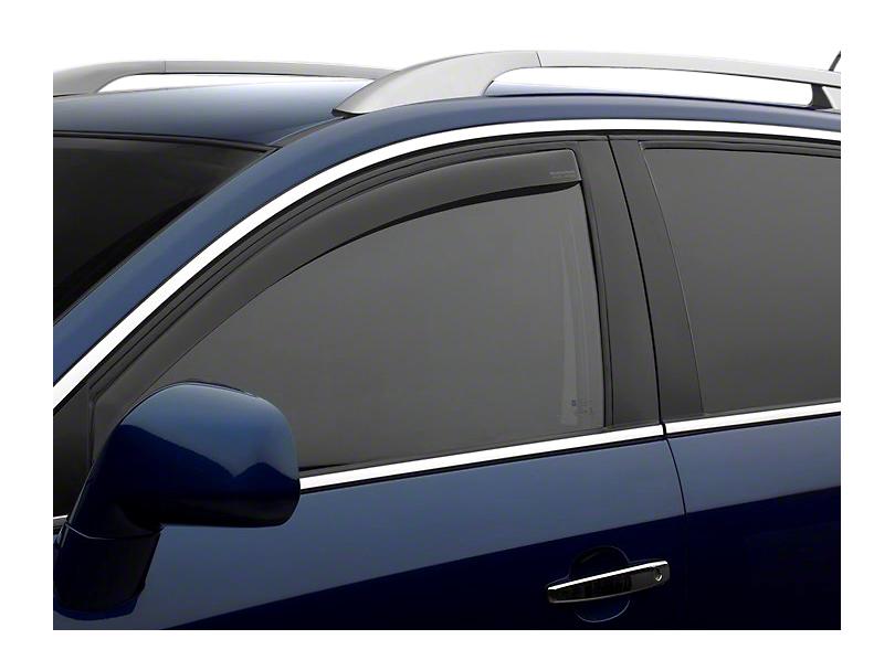 Weathertech Front Side Window Deflectors - Dark Smoke (14-18 Sierra 1500)