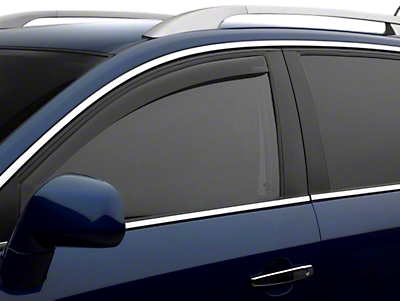 Weathertech Front Side Window Deflectors - Dark Smoke (14-18 Sierra 1500)