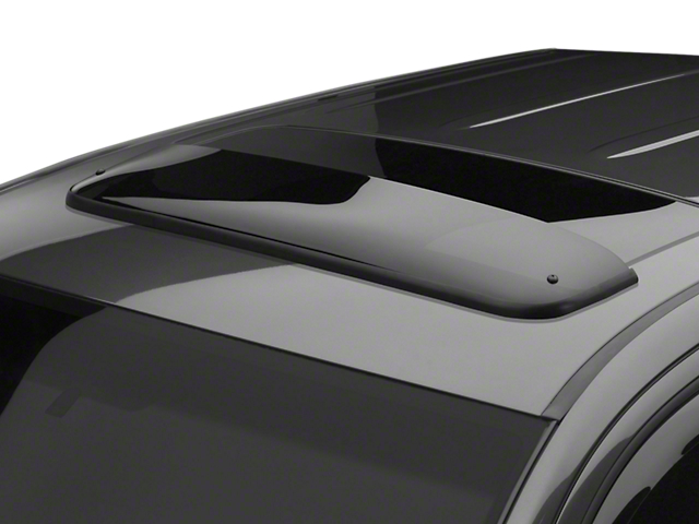 Weathertech Sunroof Wind Deflector - Dark Smoke (07-13 Sierra 1500 w/ Sunroof)