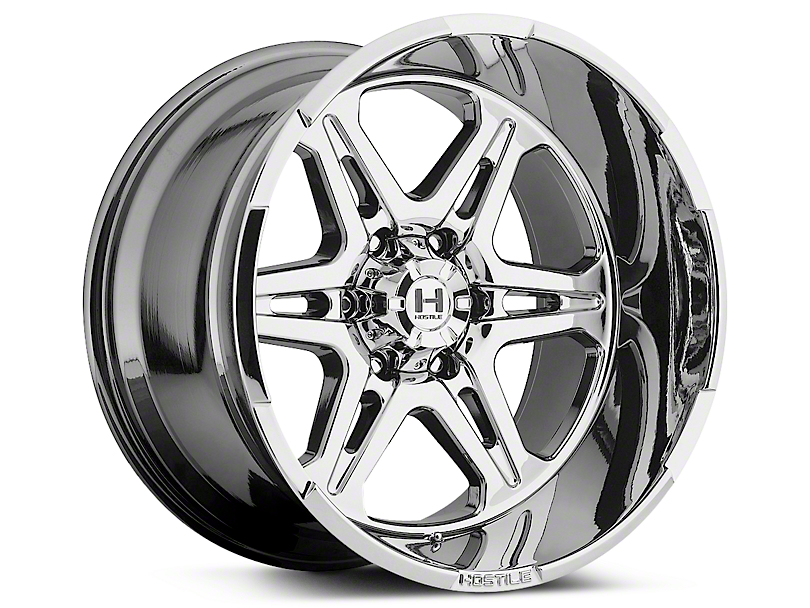 Hostile HAVOC Armor Plated 6-Lug Wheel - 20x9 (07-18 Sierra 1500)