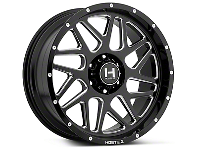 Hostile Sprocket Blade Cut 6Lug Wheel - 20x9 (07-18 Sierra 1500)