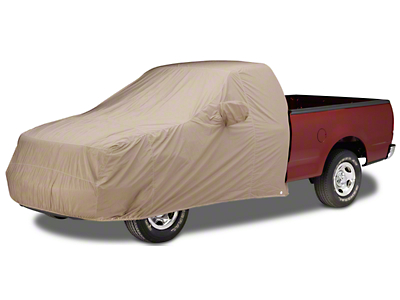 Covercraft Custom Cab Area Forward Cover - Taupe (07-18 Sierra 1500)